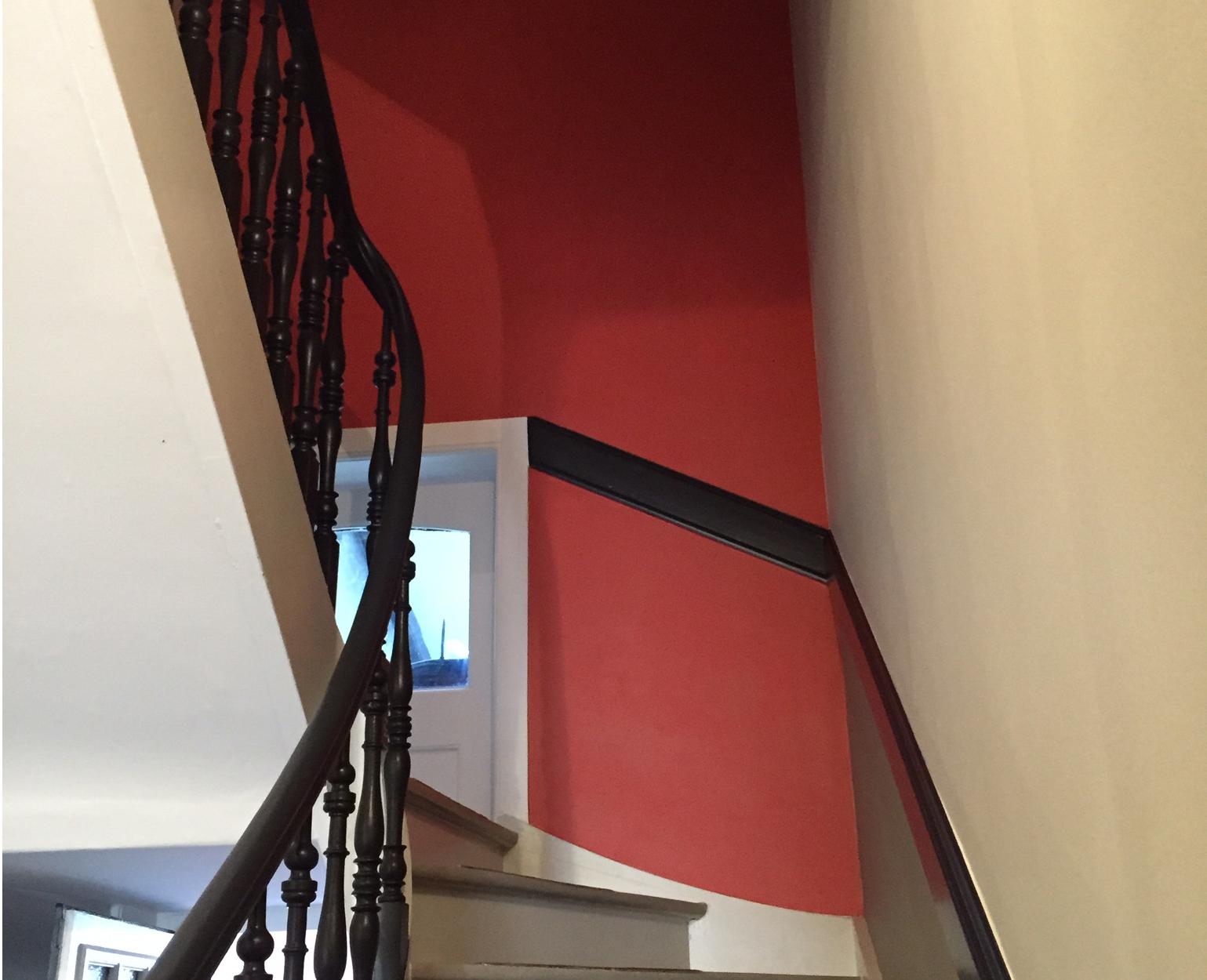 R novation cage escalier les pinceaux de val rie for Renovation cage escalier maison